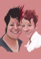 Gift caricature 13 by Steveroberts