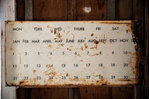 Old Calendar by InsanePiePhotography
