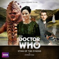 Sting of the Zygons audiobook cover by Hisi79