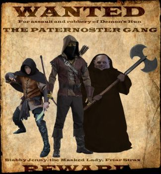 Wanted: Paternoster Gang by Dragoon23