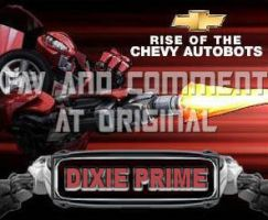 Dixie Prime: ChevyBot by -sout by fembotsunite