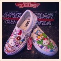 Hello Kitty Vans Tokidoki by VeryBadThing