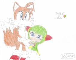2 love. TailsXCosmo by dragontamer272