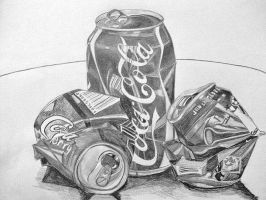 Coca-Cola Can Still Life by katiewhitley5422