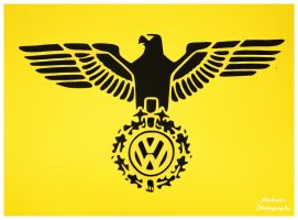 Volkswagen Decal by TheMan268
