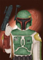 Boba Fett by comicalclare