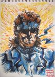 Solid Snake by GreyDrizzle