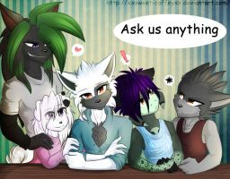 Ask My Characters by XxSweet-CoffeyxX