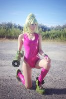Justin Bailey's Samus by RachniQueen