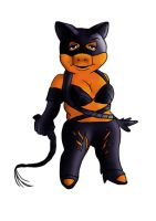 Miss Piggy - Catwomen by l-i-o-n