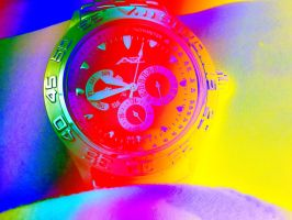 time is colorful by EnforcedCrowd