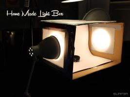 Home Made Light Box by GrahamSurferAndrews
