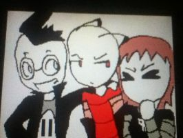 Triplets. XD (Flipnote Studios- Base Used) by Spirit-ual