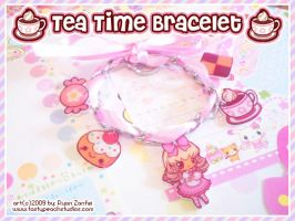 Tea Time Bracelet by MoogleGurl