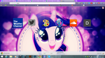 Sparkle Horse Out chrome theme by shaynelleLPS