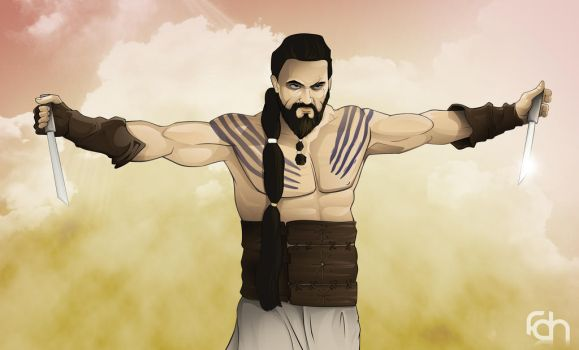 Khal Drogo by foffern