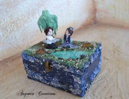 Japanese garden jewelry box by AngeniaC
