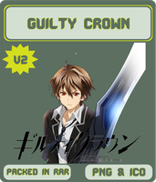 Guilty Crown v2 - Anime Icon by Rizmannf