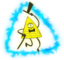 Bill Cipher by MonsterKirsche