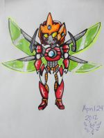 Mecha OC: Ace -chibi- by AnimePeep33