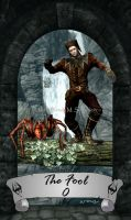 Skyrim Tarot 0 - The Fool by Whisper292