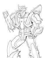 TFP Smokescreen by Wrecker-lady