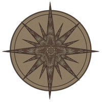 compass rose by aswad-hajja