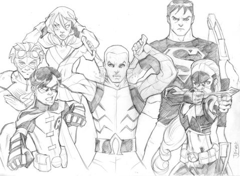 Young Justice 11222011 by guinnessyde