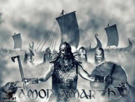 Amon Amarth tribute by thecasperart