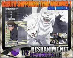 Kiba Inuzuka Theme Windows 7 by Danrockster
