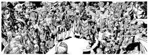 Forever Evil 4 page spread! David Finch R Friend by Blasterkid