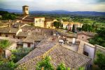 Roofs Of Assisi 3 by CitizenFresh