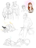 ES - Sketch dump 1 by GloomyLavv
