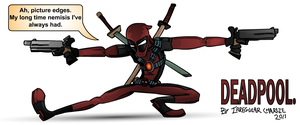Deadpool by IrregularCharlie