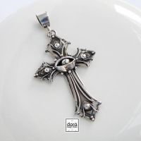 Silver cross by dora-designstudio
