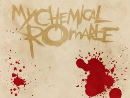 My Chemical Romance Wallpaper by xNightfire147x