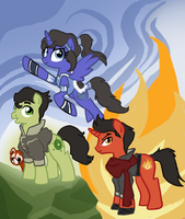 The Legend of Korra (Ponified edition) by Bedupolker