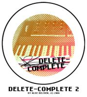 Delete-Complete Button 2 by Two-Players
