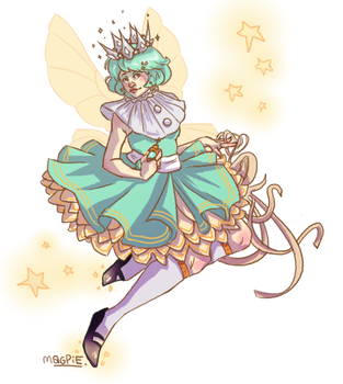 Mint Fairy by Phieea