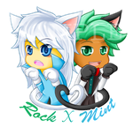 CookieRun : White Cat and Black Cat by Violet-Tarita