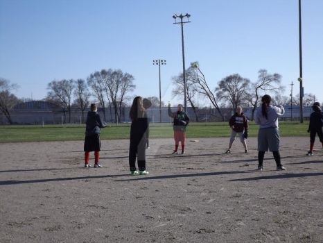 Softball Practice (12) 4-15-14 by WantsToLoseHerMask