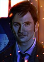 TENth Doctor - Doctor Who by 13nin