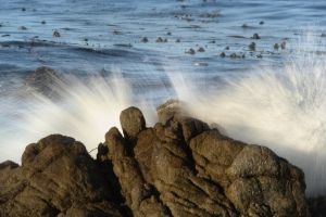Rocks And Waves by Elijah-Snow
