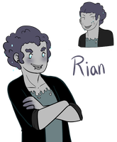 Rian the Rain Cloud by MissPomp