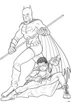The All-New Batman and Robin by Kaufee
