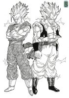 Fusion ssj2 by bloodsplach