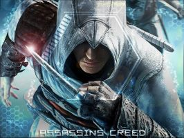 Assassin's Creed wallper by FoxedPeople