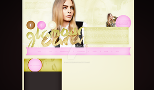 Ordered design (glamour-cara.blog.cz) by dailysmiley