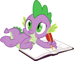 Just writing in my diary by porygon2z