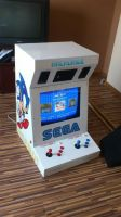 Arcade Cabinet Final by Sledge3